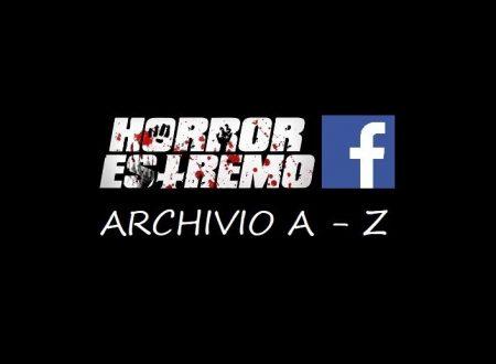 ELENCO RECENSIONI A-Z / Pagina Facebook