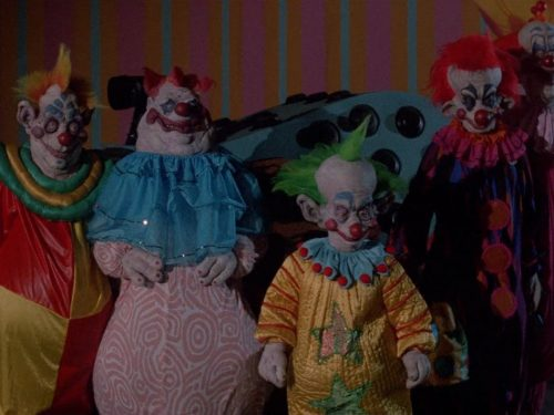 KILLER KLOWNS FROM OUTER SPACE (1988) di Stephen Chiodo